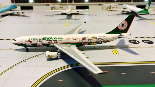 EVA Air 长荣航空 Airbus A330-200 B-16303 Hello Kitty PM-B-16303 Pandamodel 1:400