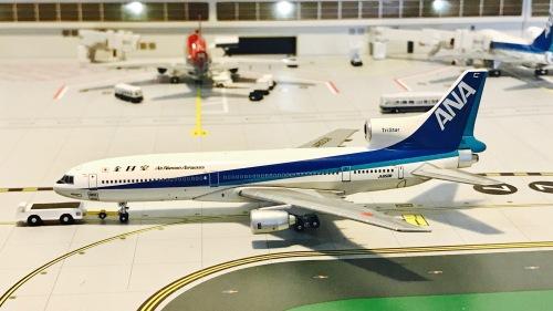 ANA 全日空 Lockheed L-1011 TriStar JA8508  BBJA8508 Blue box 1:400