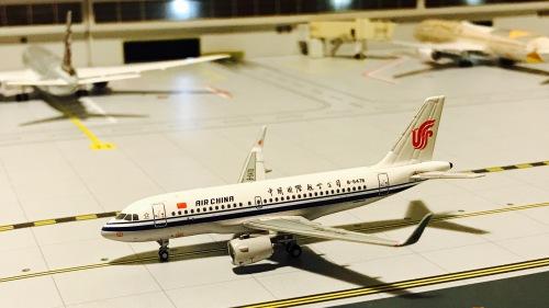 Air China 中国国际航空 Airbus A319 B-6478  PM-B-6478 Pandamodel 1:400