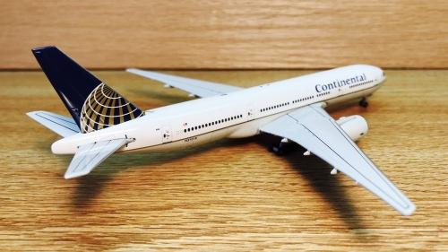 Continental Airlines 美国大陆航空 Boeing 777-200 N37018  GJCOA376B Geminijets 1:400