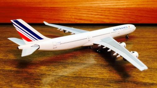 Air France 法国航空 Airbus A340-300 F-GLZR 天合联盟 ACFGLZR AeroClassics 1:400