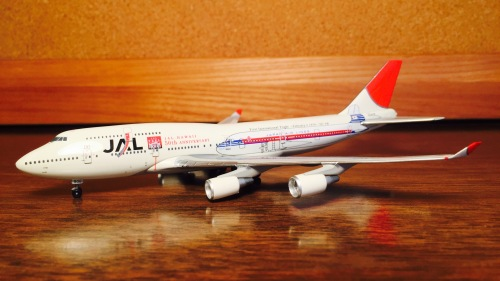 Japan Airlines 日本航空 Boeing 747-400 JA8906 Japan 50th Anniversary PH10056 Phoenix 1:400