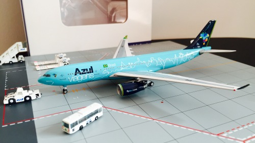 Azul 蓝色巴西航空 Airbus A330-200 PR-AIU  AC4PRAIU AeroClassics 1:400