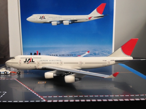 Japan Airlines 日本航空 Boeing 747-400 JA8088  561310 Herpa 1:400