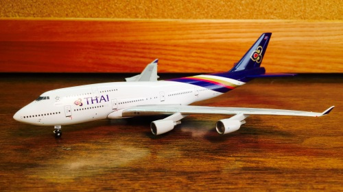 Thai Airways 泰国国际航空 Boeing 747-400 HS-TGJ  BB4-2005-XX Big Bird 1:400