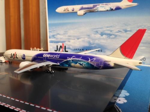 Japan Airlines 日本航空 Boeing 777-300 JA8941  561969 Herpa 1:400