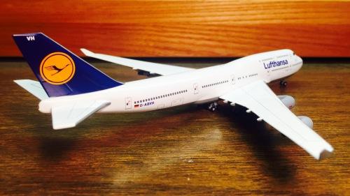 Lufthansa 汉莎航空 Boeing 747-400 D-ABVH  560139 Herpa 1:400