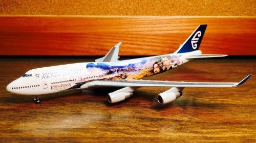Air New Zealand 新西兰航空 Boeing 747-400 ZK-SUJ 指环王 560788 Herpa 1:400
