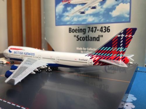 British Airways 英国航空 Boeing 747-400 G-CIVO  GJBAW017 Geminijets 1:400