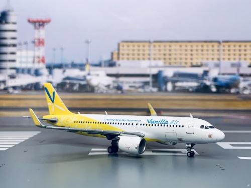 Vanilla Air 香草航空 Airbus A320 JA01VA  JW40001 Geminijets 1:400