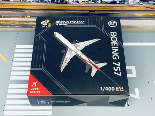 SF Airlines 顺丰航空 Boeing 757-200 B-1173  ATC40005 Tiny 微影 1:400