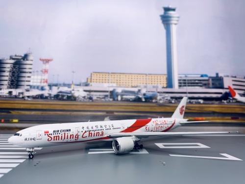 Air China 中国国际航空 Boeing 777-300ER B-2035 微笑中国 Smiling China AV4041 Aviation400 1:400