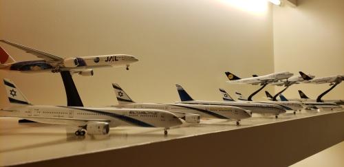 El Al 以色列航空 Boeing 787-9 4X-EDM 金色耶路撒冷 NG55028 Ngmodel 1:400