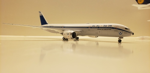 El Al 以色列航空 Boeing 787-9 4X-EDF 复古涂装 NG55023 Ngmodel 1:400