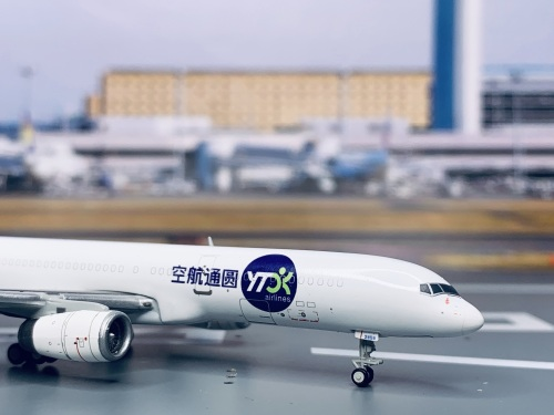 YTO Airlines 圆通航空 Boeing 757-200 B-2859  LH4092 JC Wings 1:400
