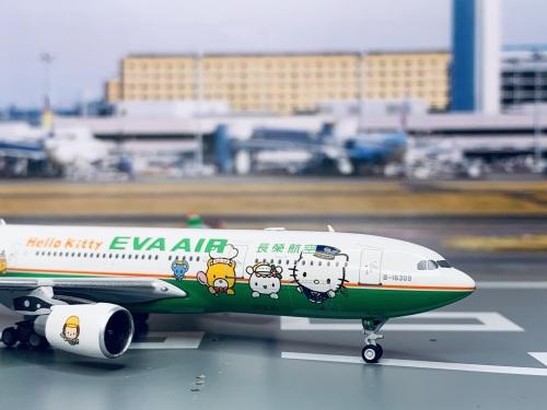 EVA Air 长荣航空 Airbus A330-200 B-16309 Hello Kitty PM-B-16309 Pandamodel 1:400