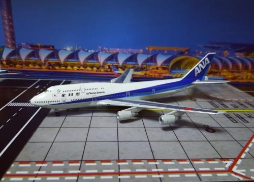 ANA 全日空 Boeing 747-400 JA8961  NH40015 Hogan 1:400