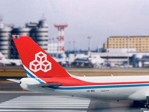 Cargolux 卢森堡货运航空 Boeing 747-8 LX-VCC 50周年 PH11605 Phoenix 1:400