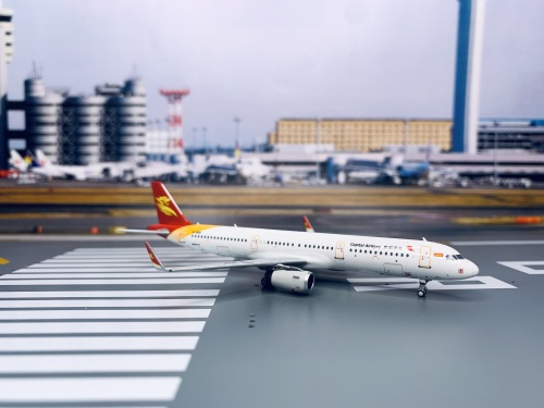 Capital Airlines 首都航空 Airbus A321 B-300F  HYJL81045 HYJLwings 1:400