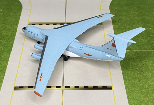 PLAAF 中国空军 Ilyushin Il-76 21141  AC419766 AeroClassics 1:400
