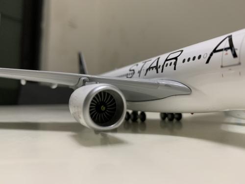 South African Airways 南非航空 Airbus A340-600 ZS-SNC 星空联盟涂装 XX2489 JC Wings 1:200