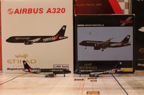 Etihad Airways 阿提哈德航空 Airbus A320 A6-EIB