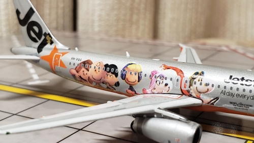 Jetstar 捷星航空 Airbus A320 VH-VQG  PH04101 Phoenix 1:400