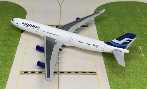Finnair 芬兰航空 Airbus A340-300 OH-LQA  55997 Dragon Models 1:400