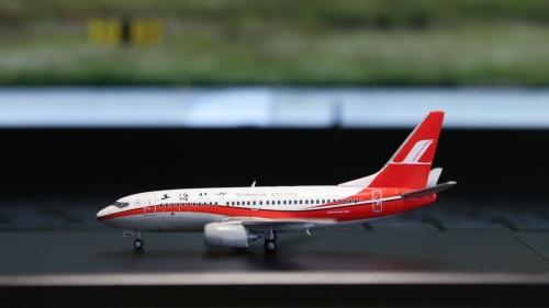 Shanghai Airlines 上海航空 Boeing 737-700 B-2913  XX4606 JC Wings 1:400