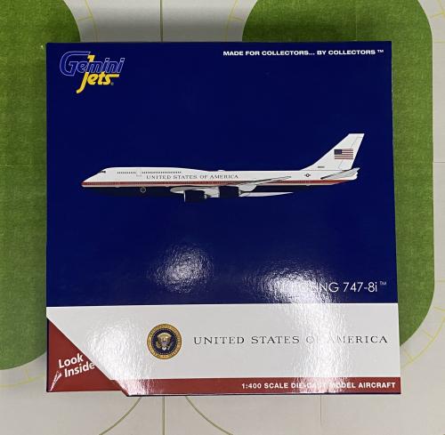USAF 美国空军 Boeing 747-8 30000  GJAFO1913 Geminijets 1:400
