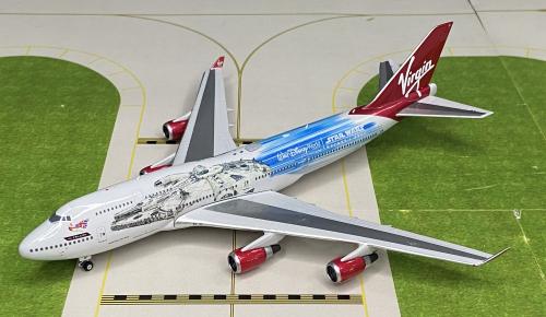 Virgin Atlantic Airways 维珍航空 Boeing 747-400 G-VLIP 星球大战 PH04322 Phoenix 1:400