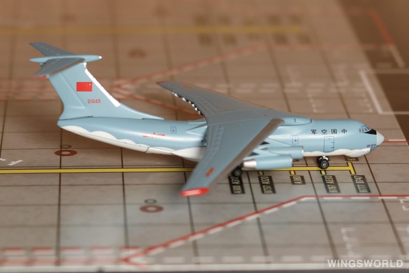Witty 1:400 WT4I76014 PLAAF 中国空军 Ilyushin Il-76 21045