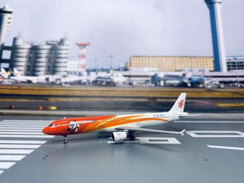 Air China 中国国际航空 Airbus A321 B-6361 秀美四川 HYJL81059 HYJLwings 1:400