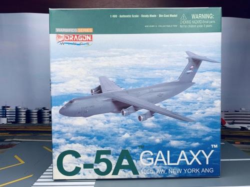 USAF 美国空军 Lockheed C-5 69-0012 第105空运联队 55780 Dragon Models 1:400