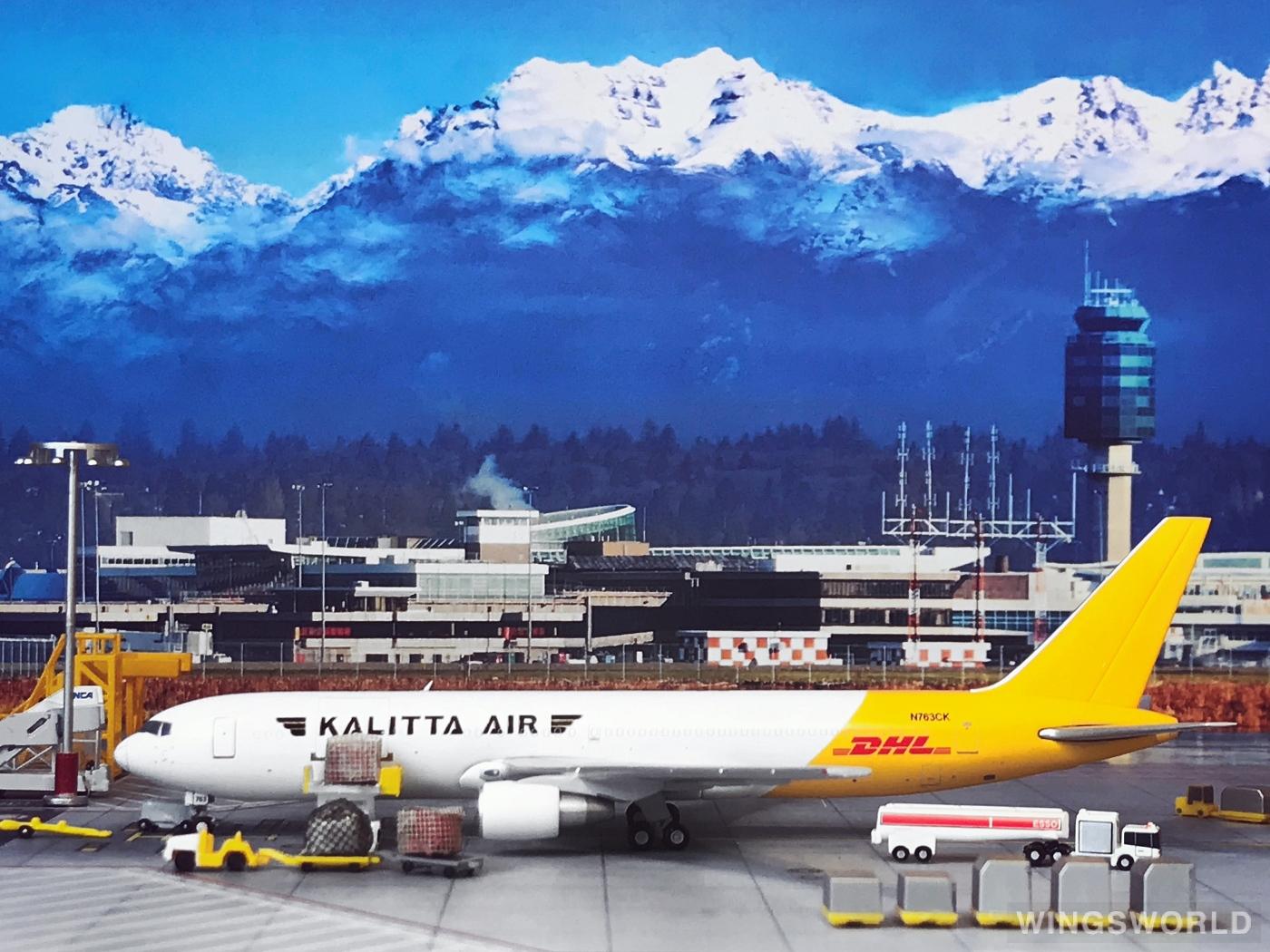 JC Wings 1:400 XX4237 Kalitta Air 卡利塔航空 Boeing 767-300 N763CK