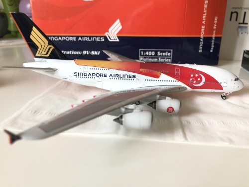 Singapore Airlines 新加坡航空 Airbus A380-800 9V-SKI