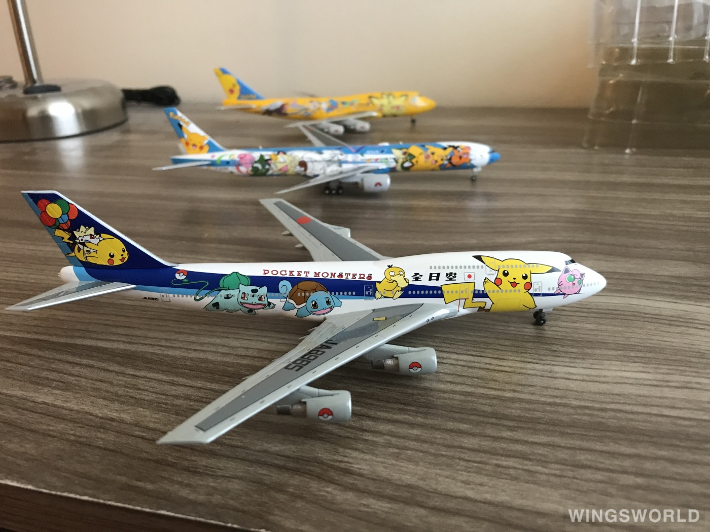 Dragon Models 1:400 Jet009 ANA 全日空 Boeing 747-400 JA8965