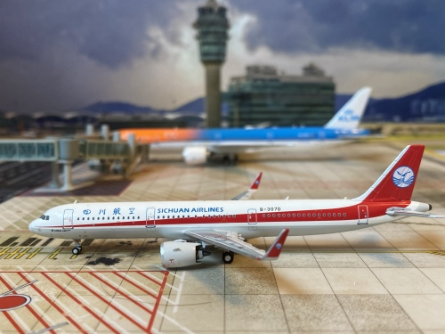Sichuan Airlines 四川航空 Airbus A321neo B-307D  NG13006 Ngmodel 1:400