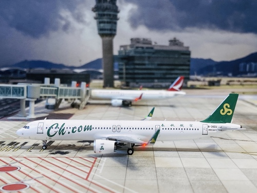 Spring Airlines 春秋航空 Airbus A321neo B-30EU  HYJL81067 HYJLwings 1:400