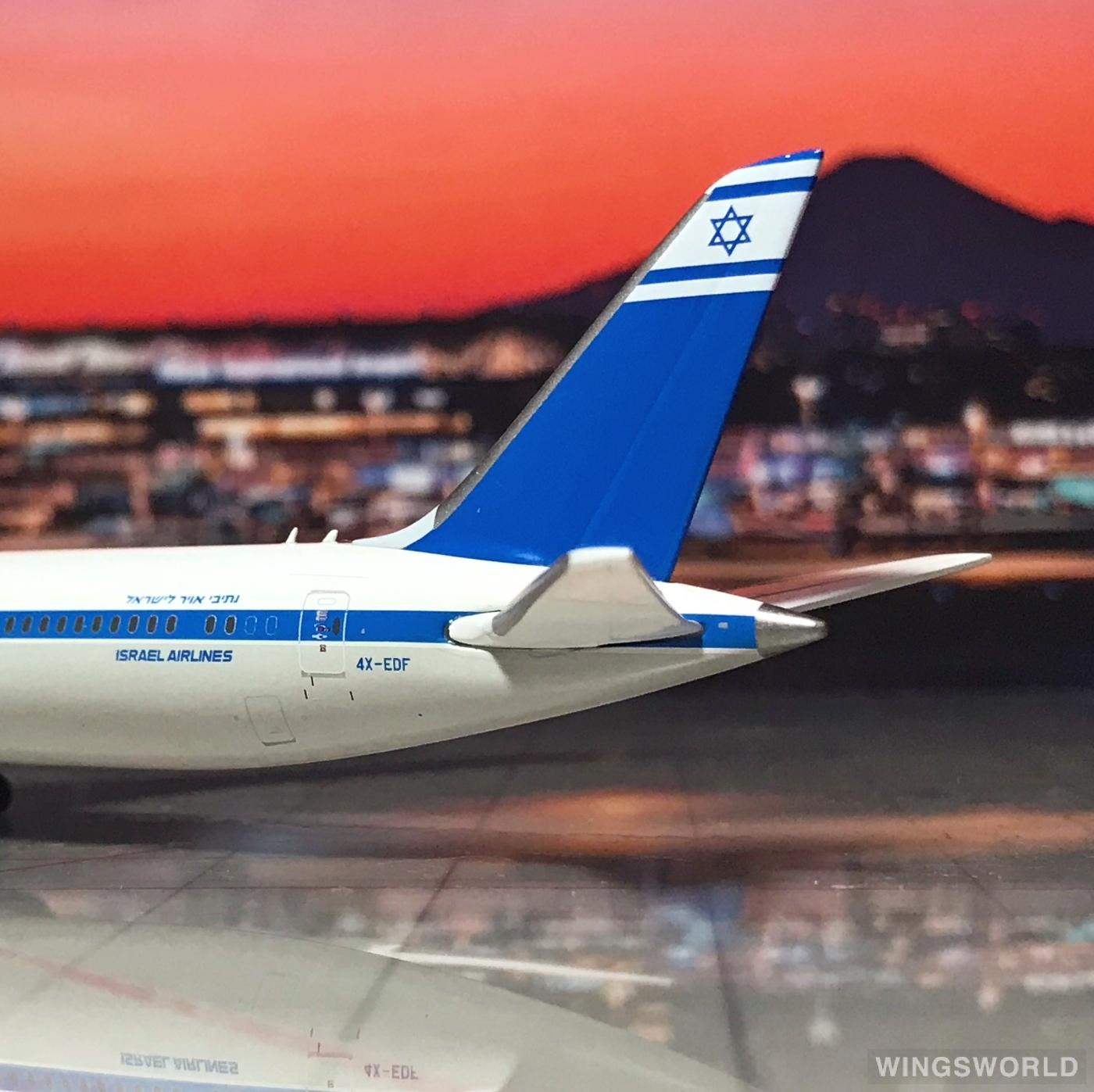 Geminijets 1:400 GJELY1893 El Al 以色列航空 Boeing 787-9 4X-EDF