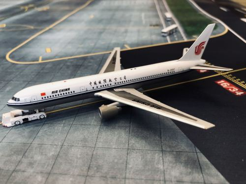 Air China 中国国际航空 Boeing 767-300 B-2557 1990s colors. WT4763004 Witty 1:400