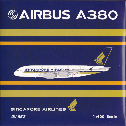 Singapore Airlines 新加坡航空 Airbus A380-800 9V-SKZ  PH04328 Phoenix 1:400