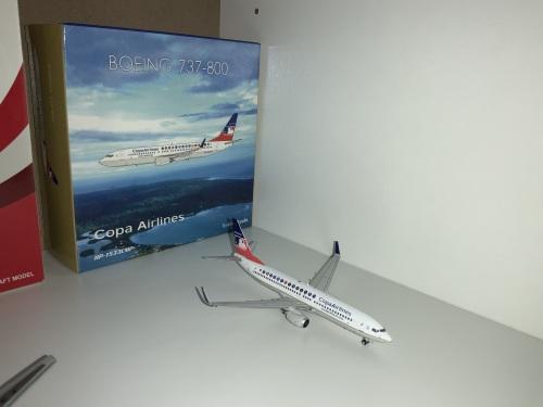 Copa Airlines 巴拿马航空 Boeing 737-800 HP-1533CMP  PH04317 Phoenix 1:400