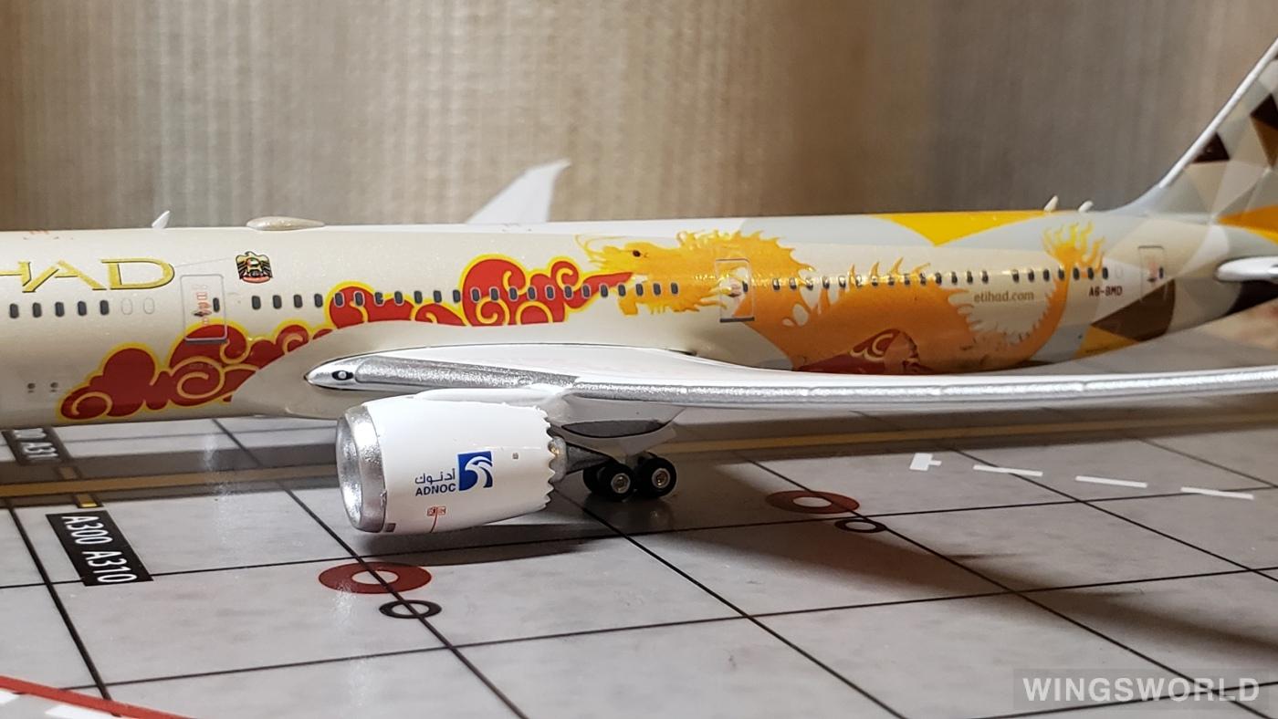 Phoenix 1:400 PH04326 Etihad Airways 阿提哈德航空 Boeing 787-10 A6-BMD