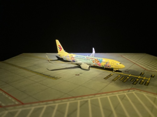 China Eastern 中国东方航空 Boeing 737-800 B-1316 达菲·联萌号 PH04292 Phoenix 1:400