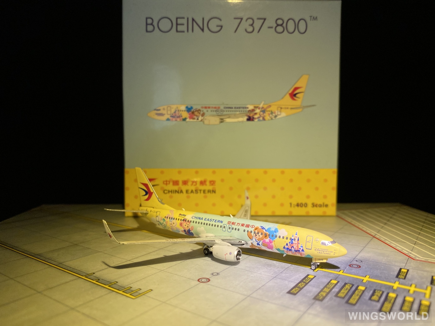 Phoenix 1:400 PH04292 China Eastern 中国东方航空 Boeing 737-800 B-1316