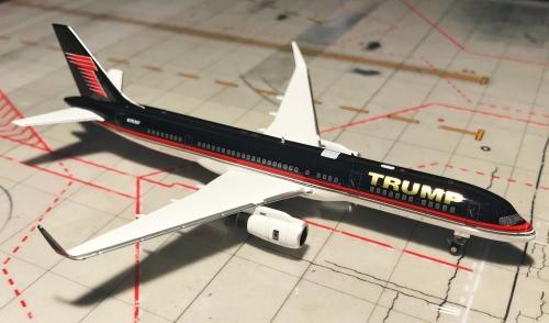 Trump Airlines 特朗普航空 Boeing 757-200 N757AF  NG53019 Ngmodel 1:400