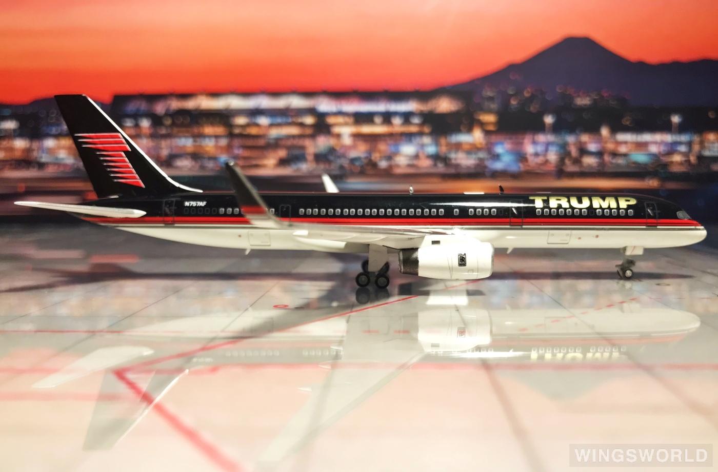 Ngmodel 1:400 NG53019 Trump Airlines 特朗普航空 Boeing 757-200 N757AF