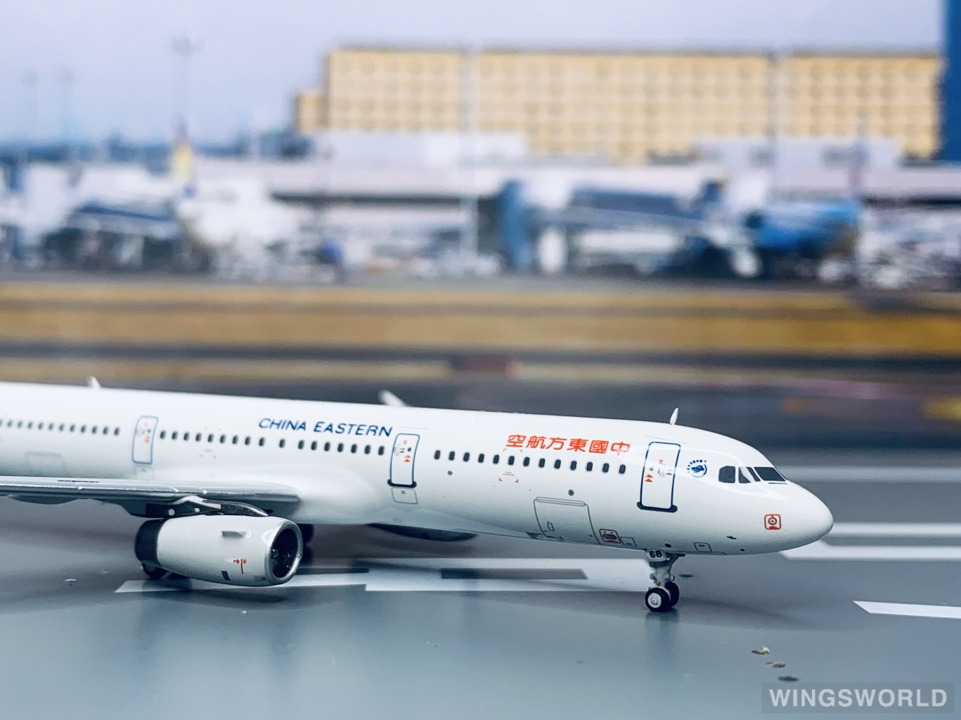 HYJLwings 1:400 HYJL81020 China Eastern 中国东方航空 Airbus A321 B-6668