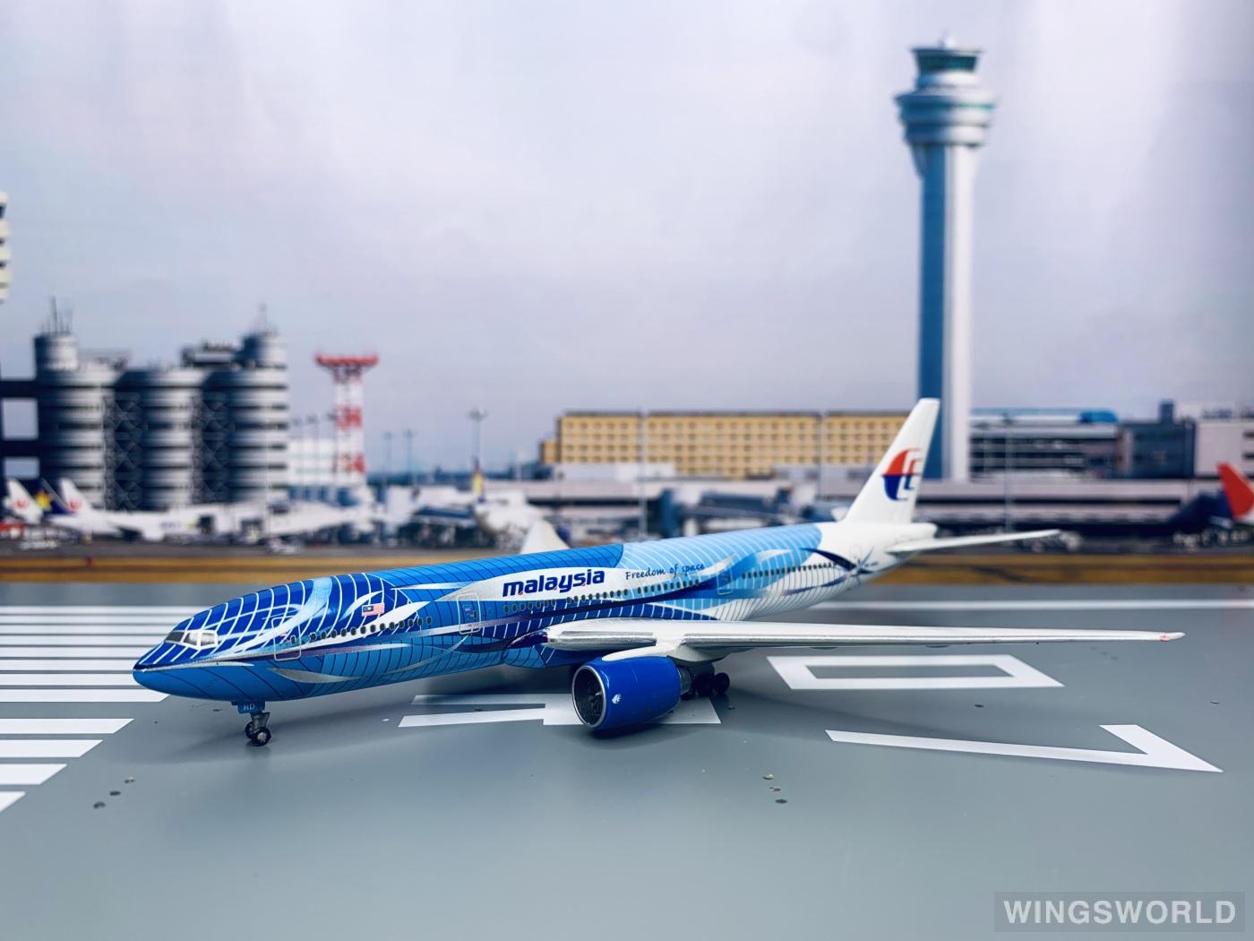 Geminijets 1:400 88207 Malaysia Airlines 马来西亚航空 Boeing 777-200 9M-MRD